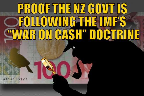NZ Following IMF War on Cash Plan