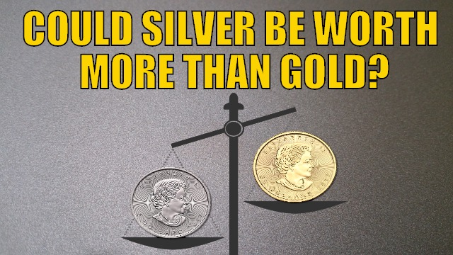 Could Silver Be Worth More Than Gold?
