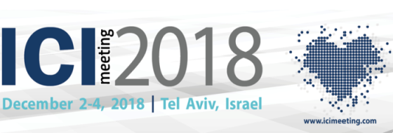 ICI meeting 2018 - December 2-4, 2018 - Tel Aviv, Israel