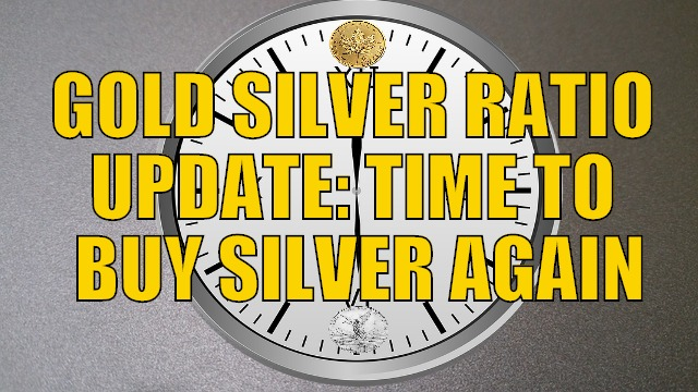 Gold to Silver Ratio Update for 2017