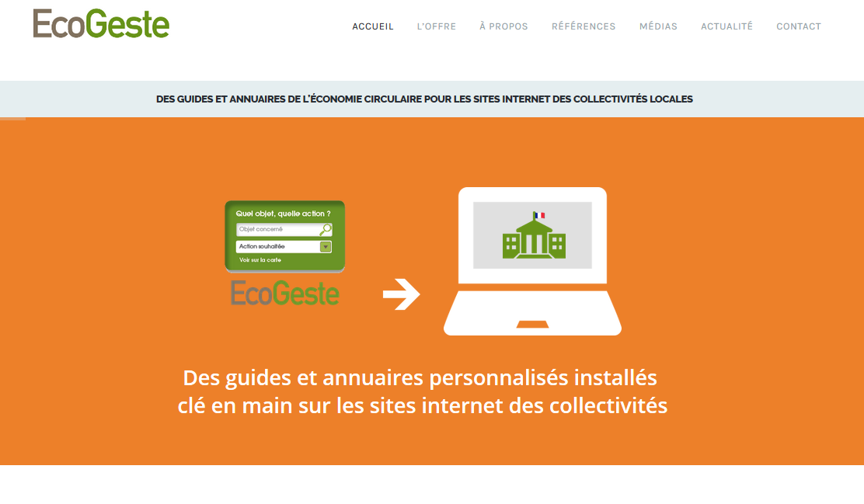 Accueil site EcoGeste