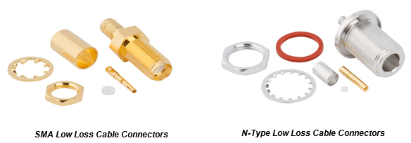 New Product Alert - SMA and N-Type Connectors Optimized for Low Loss