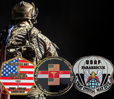 How to Practice Proper Military Challenge Coin Etiquette - Custom
