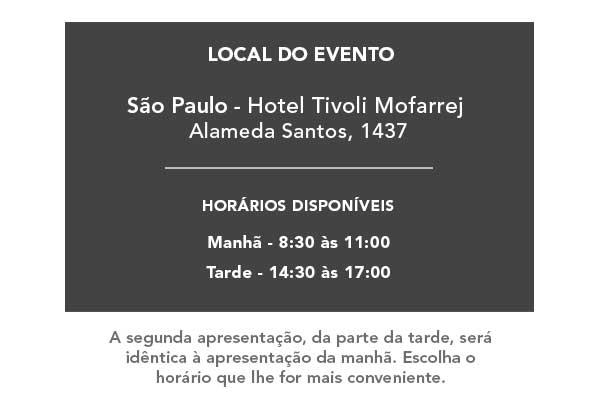 Evento em São Paulo