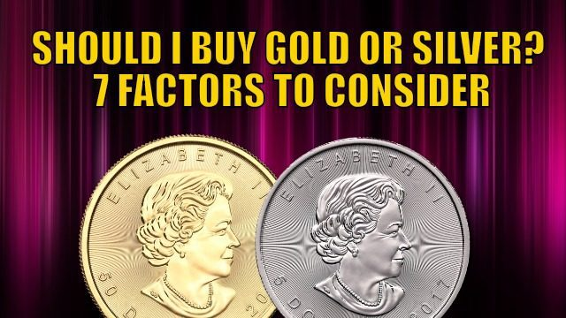 Silver coins and silver bullion also discussed