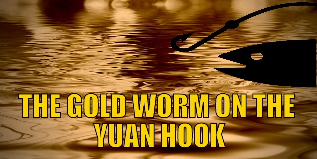 The Gold Worm on the Yuan Hook
