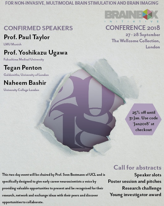 DEADLINE REMINDER: Call for speaker abstracts - BBI Conference 2018