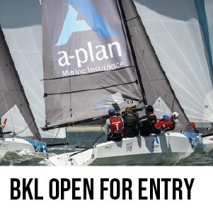 British Keelboat League 2021 is now open for entry.