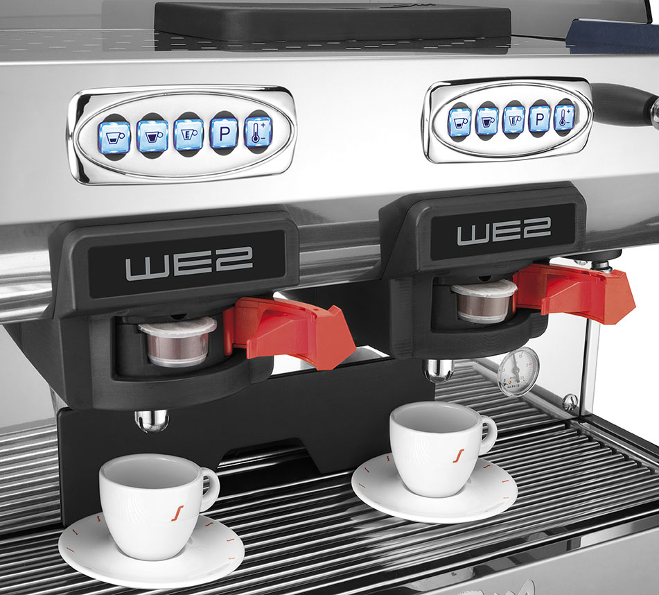 la san marco new coffee machines from italy. Black Bedroom Furniture Sets. Home Design Ideas