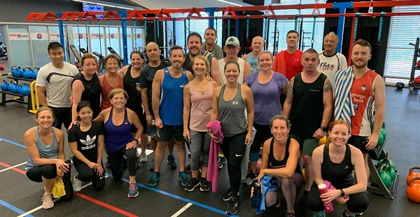 HighLow Fitness group photo