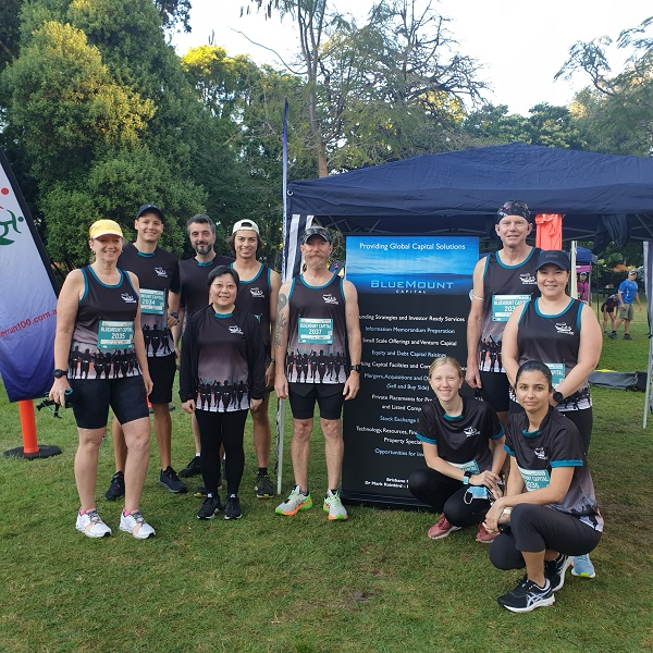 Image of BMCQ team at  River Run 100