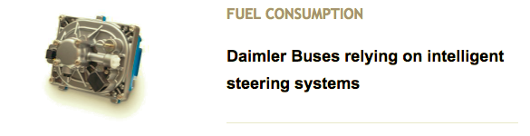 Daimler Buses relying on intelligent steering systems
