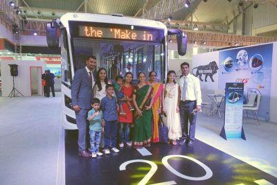 ADL Enviro electric bus