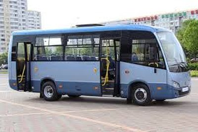 PAZ bus in Russia