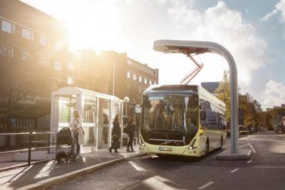 Volvo electric Malmö