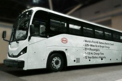 BYD electric coach US