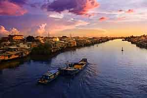 Mekong in December