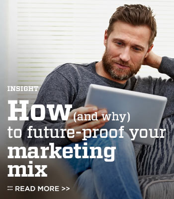 How (and why) to future-proof your marketing mix