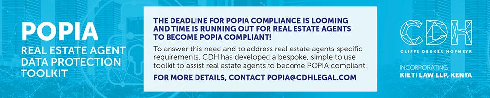 CDH - POPIA Real estate agency toolkit