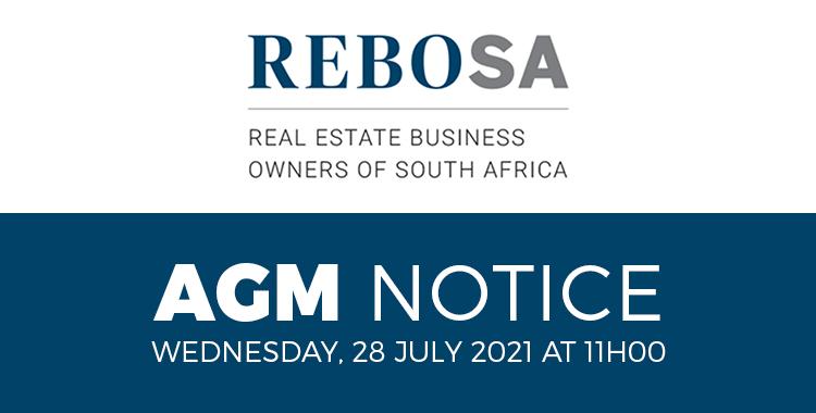 Rebosa AGM notice
