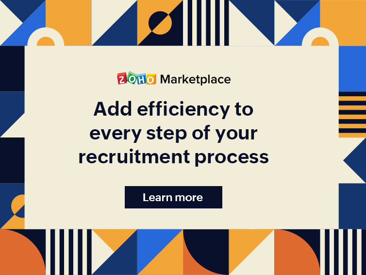 Add efficiency to every step of your recruitment process