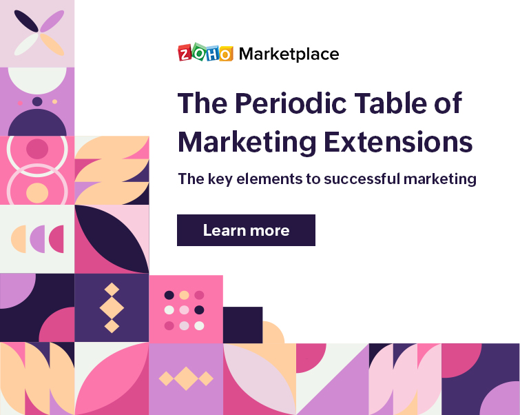 The Periodic Table of Marketing Extensions