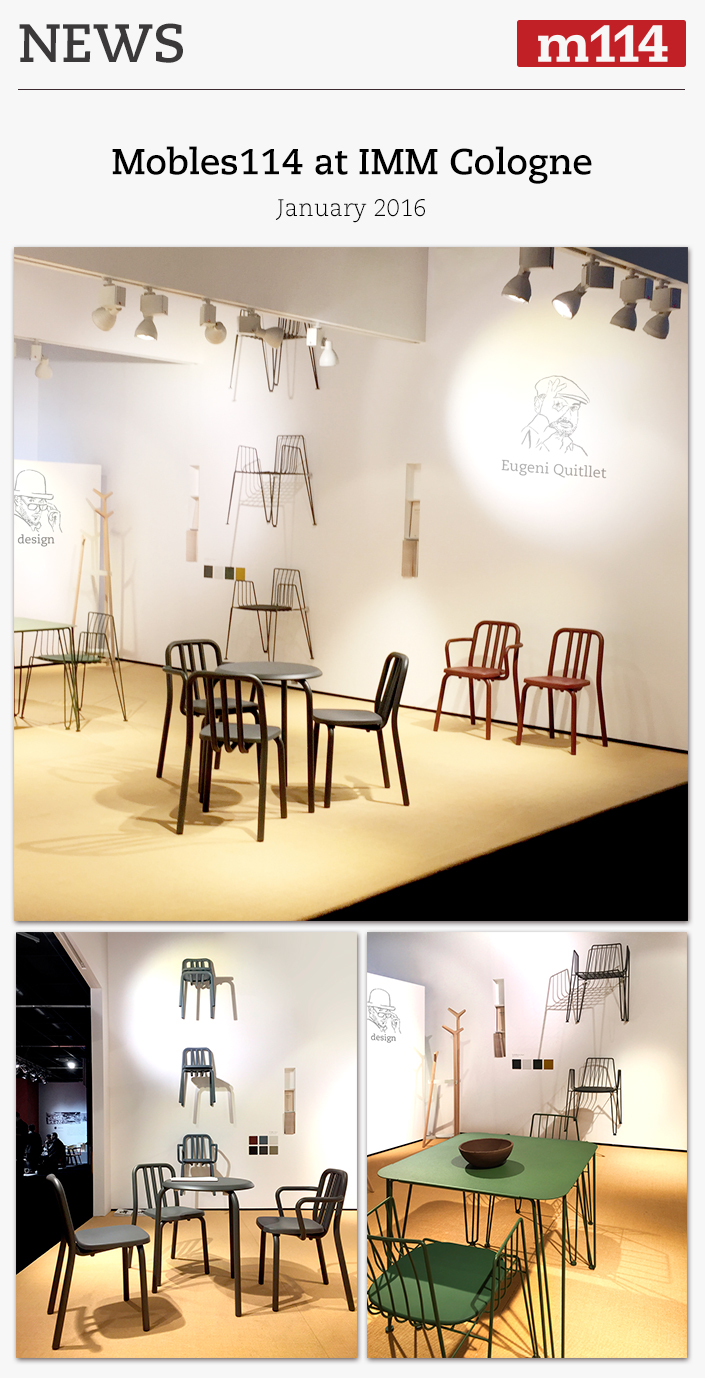 MOBLES 114 at IMM COLOGNE 2016