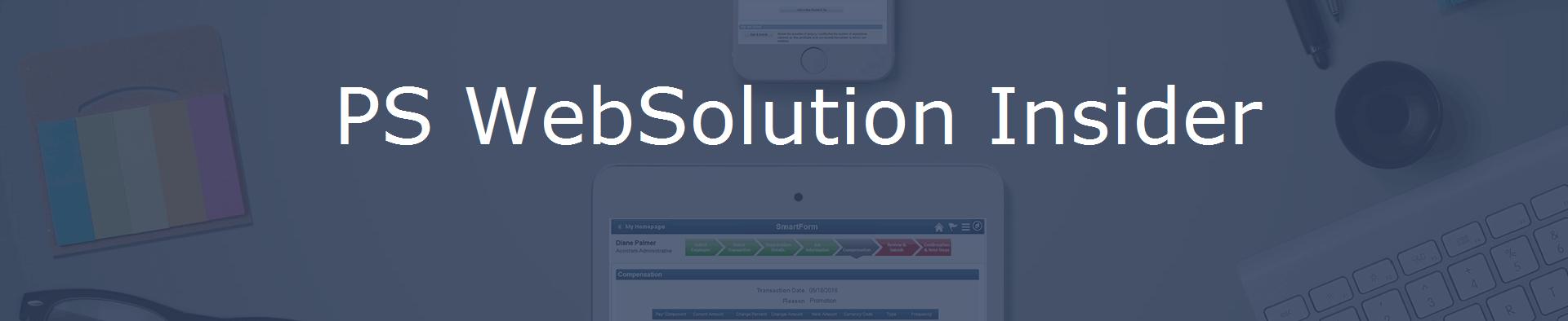 PS WebSolution Insider