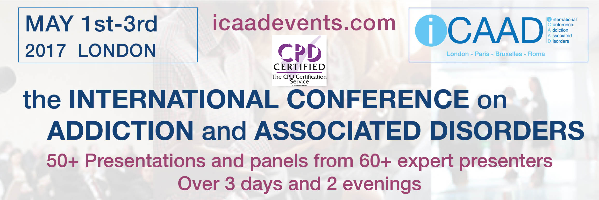 Icaad London 30 Hours Of Cpd And A Film Festival