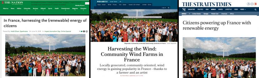 Energie Partagee : la presse en parle en Israel, au Nigéria et à Singapour !