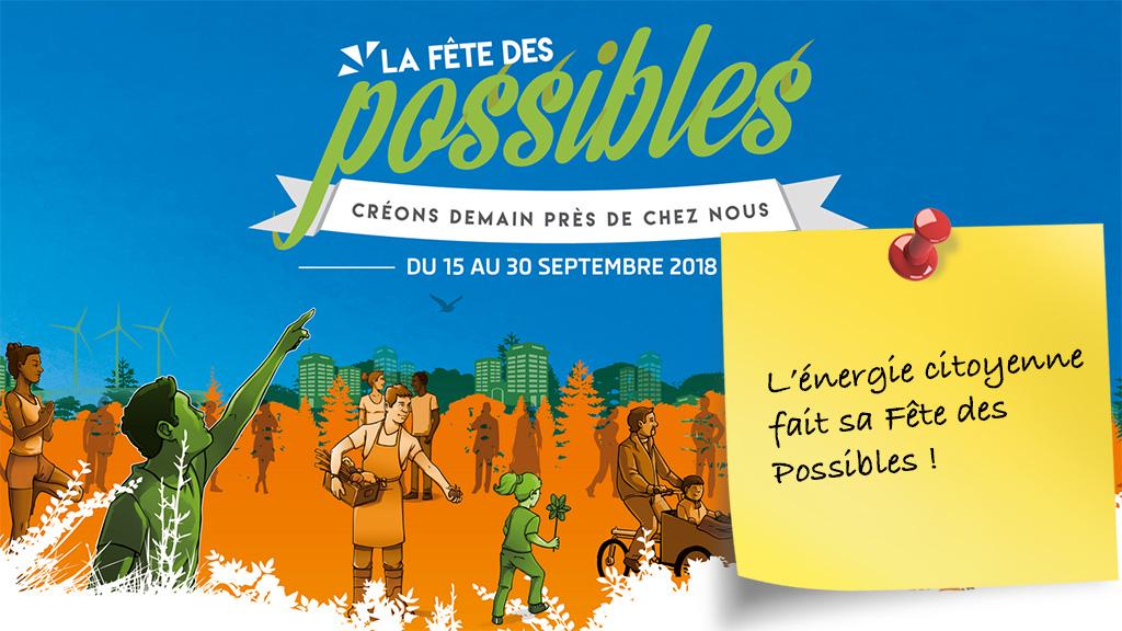 15-30 septembre : l'énergie citoyenne fait sa Fête des Possibles
