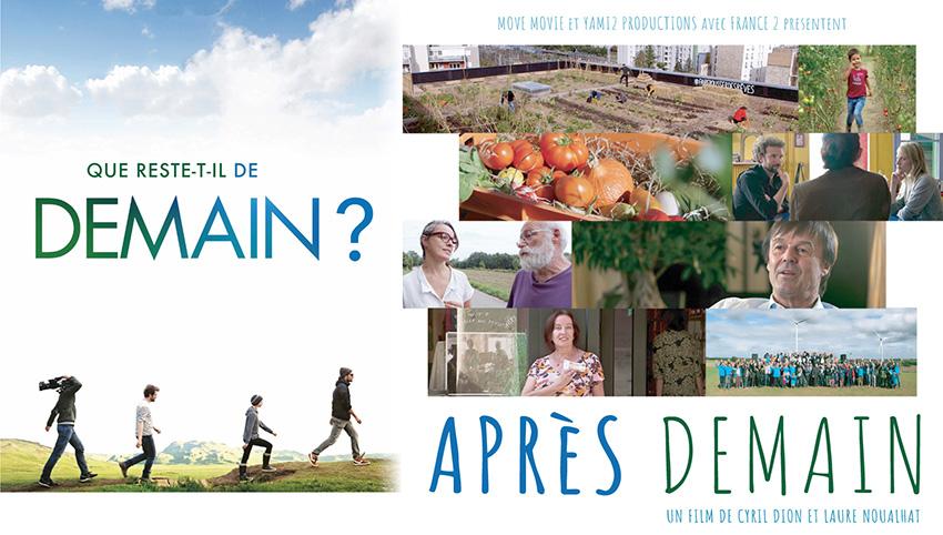 Mercredi 11 décembre 2018, diffusion du film Après Demain sur France 2