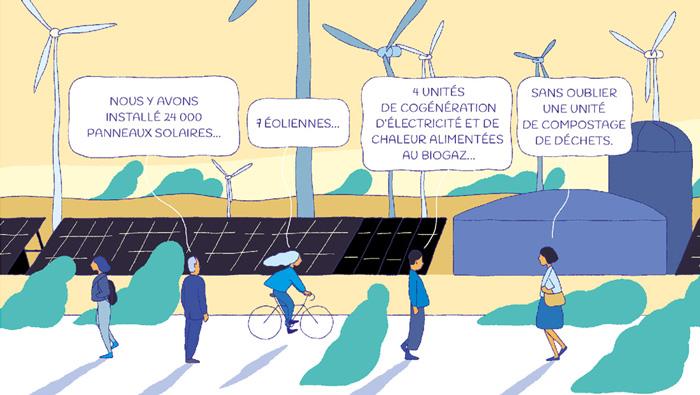 Florilège des énergies renouvelables en BD
