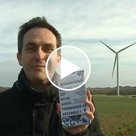 France 3 - Reportage sur les parcs éoliens citoyens