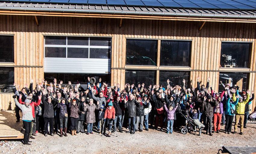 Fête à Embrun avec Énergies Collectives