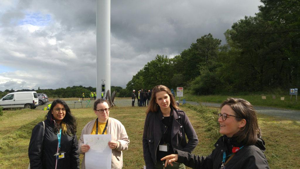 Visite du parc éolien de Sévérac-Guenrouët