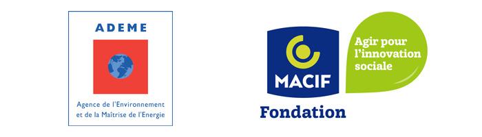Nos partenaires : ADEME et Fondation MACIF