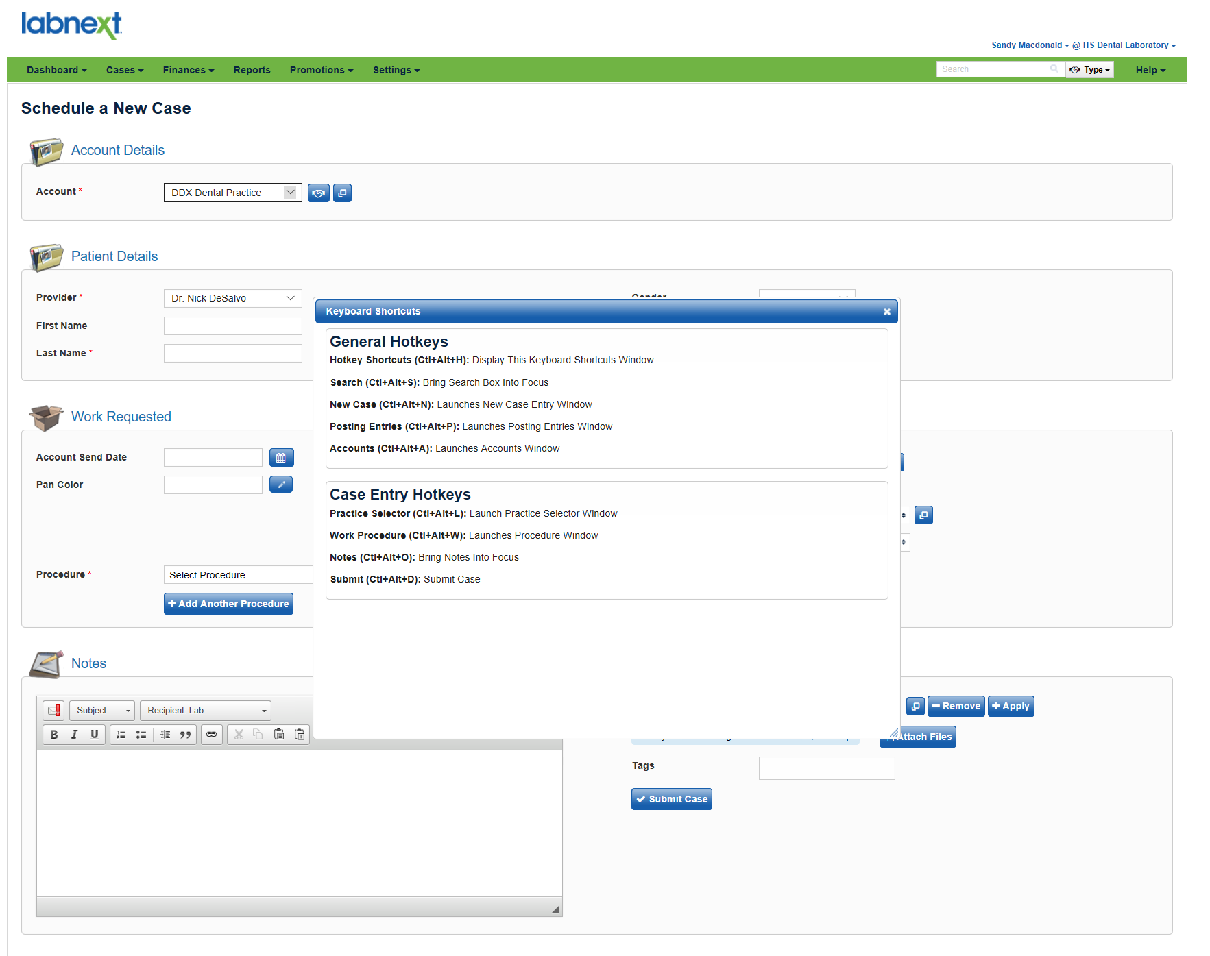 Learn More About Labnext Keyboard Shortcuts and Tracking