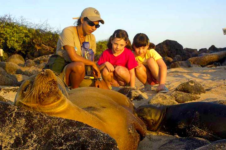 family adventure in the Galapagos