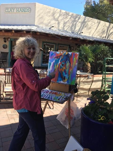 Artist Barbara Meikle