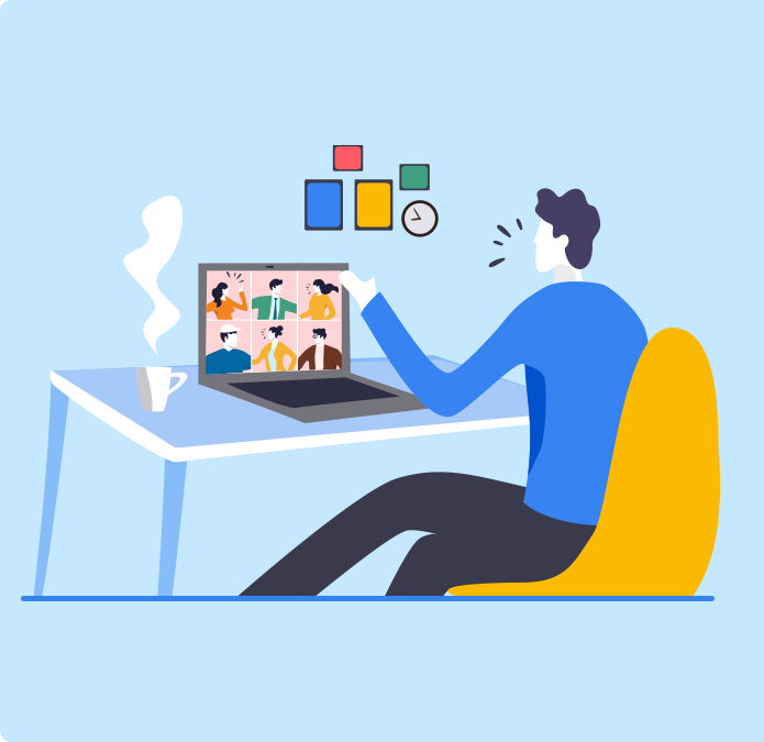 Seamlessly communicate and collaborate while working remotely