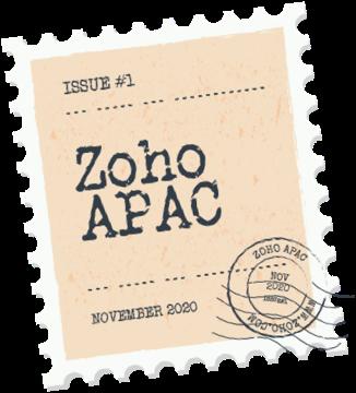 Zoho Buzz Stamp