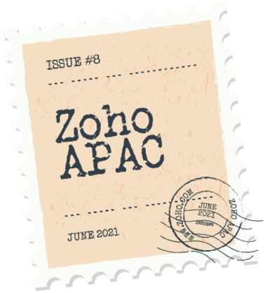 Zoho times stamp