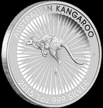 Silver Kangaroo Coin