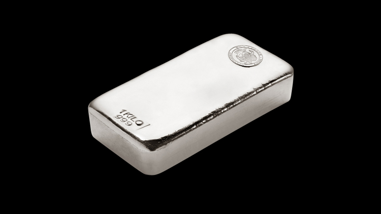 Perth Mint 1kg silver bar
