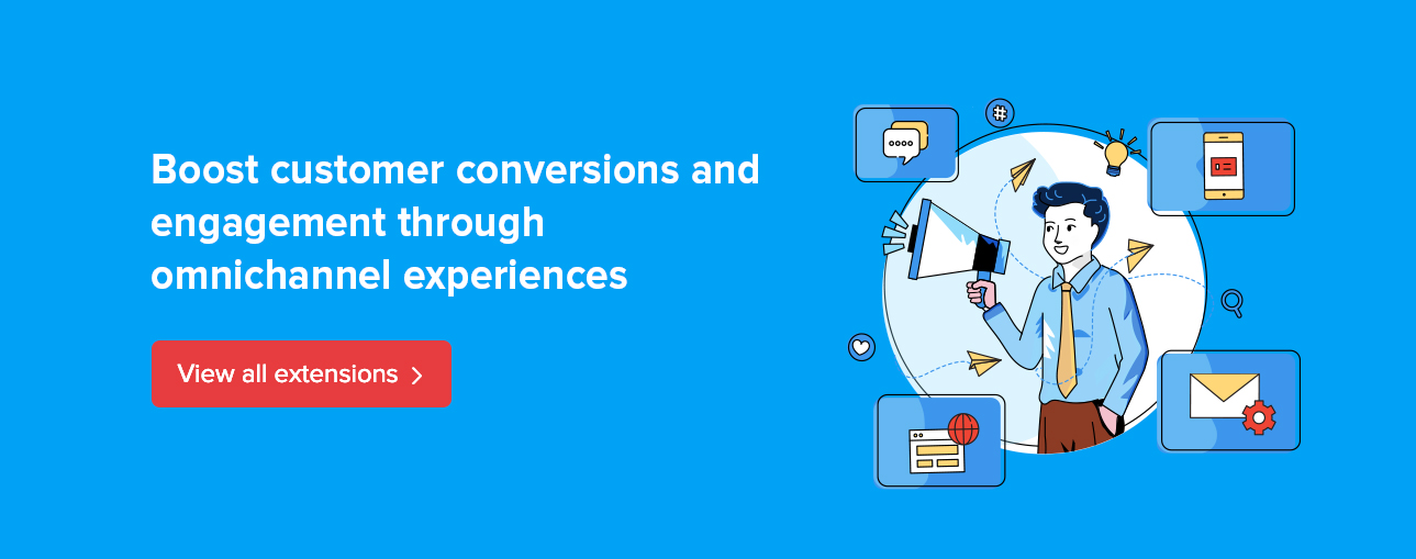 Boost customer conversions and engagement through omnichannel experiences.