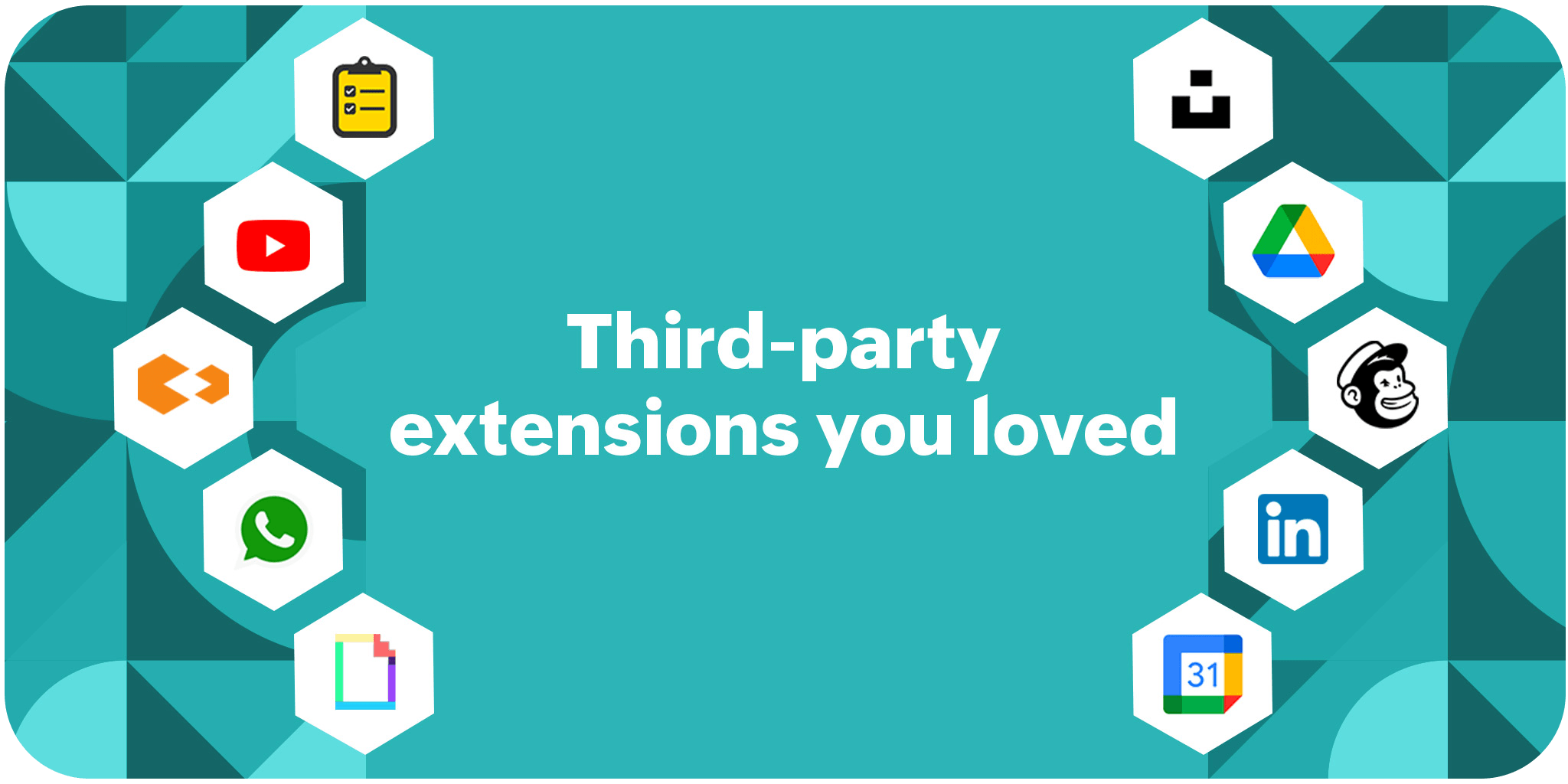 Most installed third-party extensions