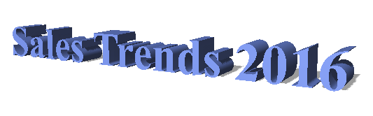 2016 Sales Trends