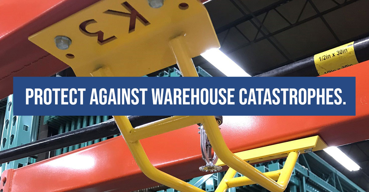 Protect against warehouse catastrophes.
