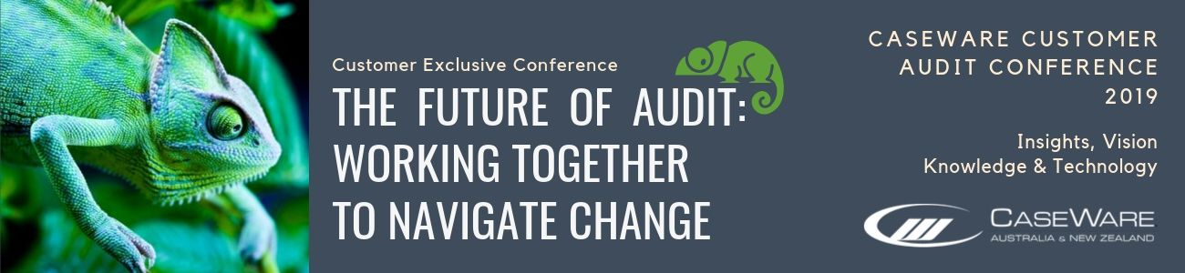 Exclusive Customer Audit Conference 2019 CaseWare